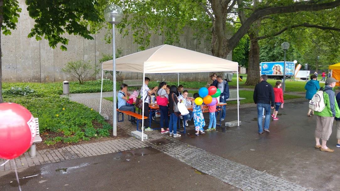 Stuttgart SAM-NT Stand Kinder & Jugendfestival 2016