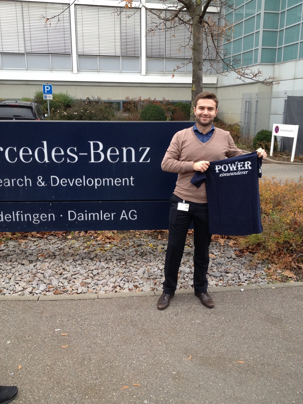 2016 - POWEReinwanderer bei DAIMLER Sindelfingen